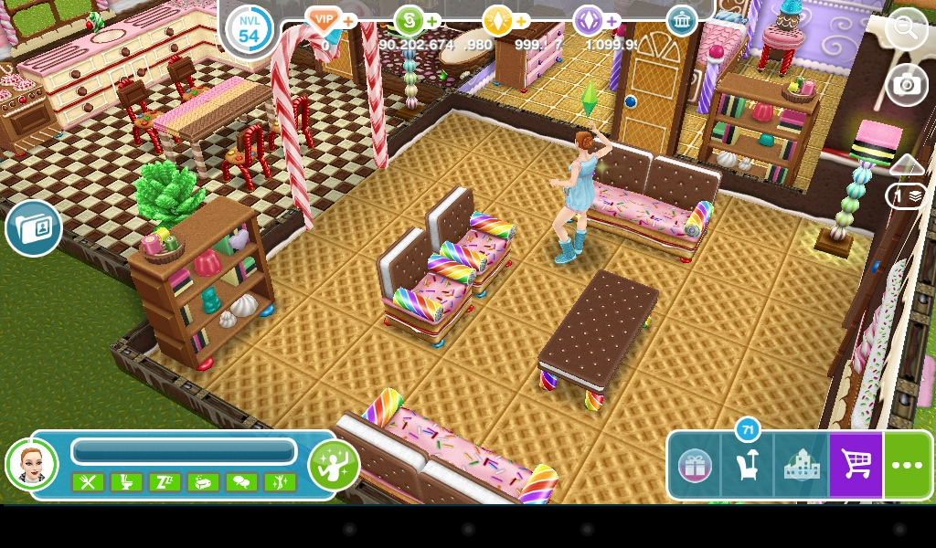 The sims freeplay casa de biscoito for Casa de diseno the sims freeplay