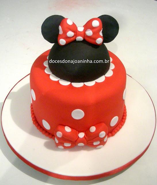 bolo decorado Disney