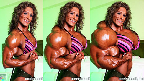 Jeannie Paparone Female Muscle Morph Bodybuilding Fitness Area Orion