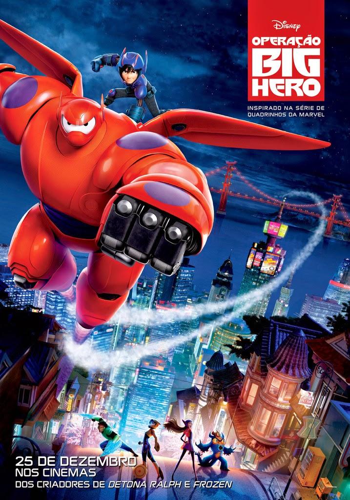 Filme Operação Big Hero Dublado AVI