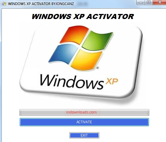 Windows XP Activation Crack Key and Serial Number Free