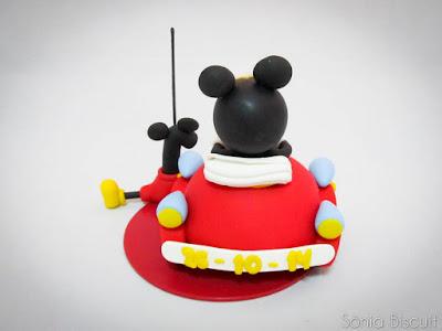 Topo de Bolo Mickey Biscuit