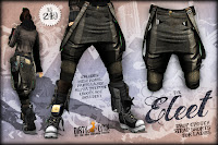 Eleet drop crotch shorts