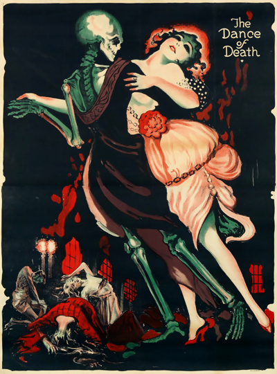 Josef Fenneker - The Dance of Death - Movie poster