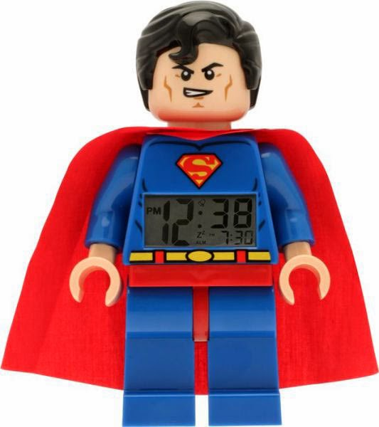 Despertador Superman Lego