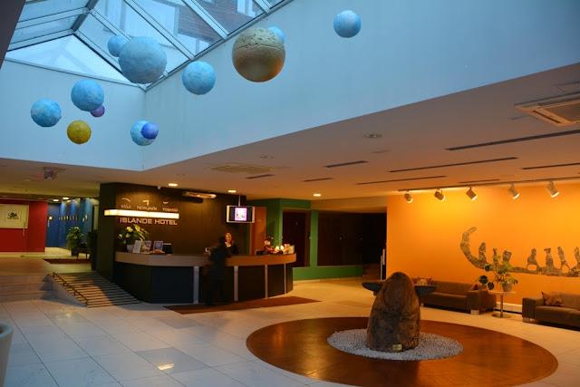 Islande Hotel Kipsala lobby
