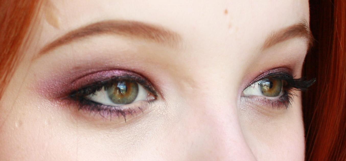 hantastic beauty look for greener eyes