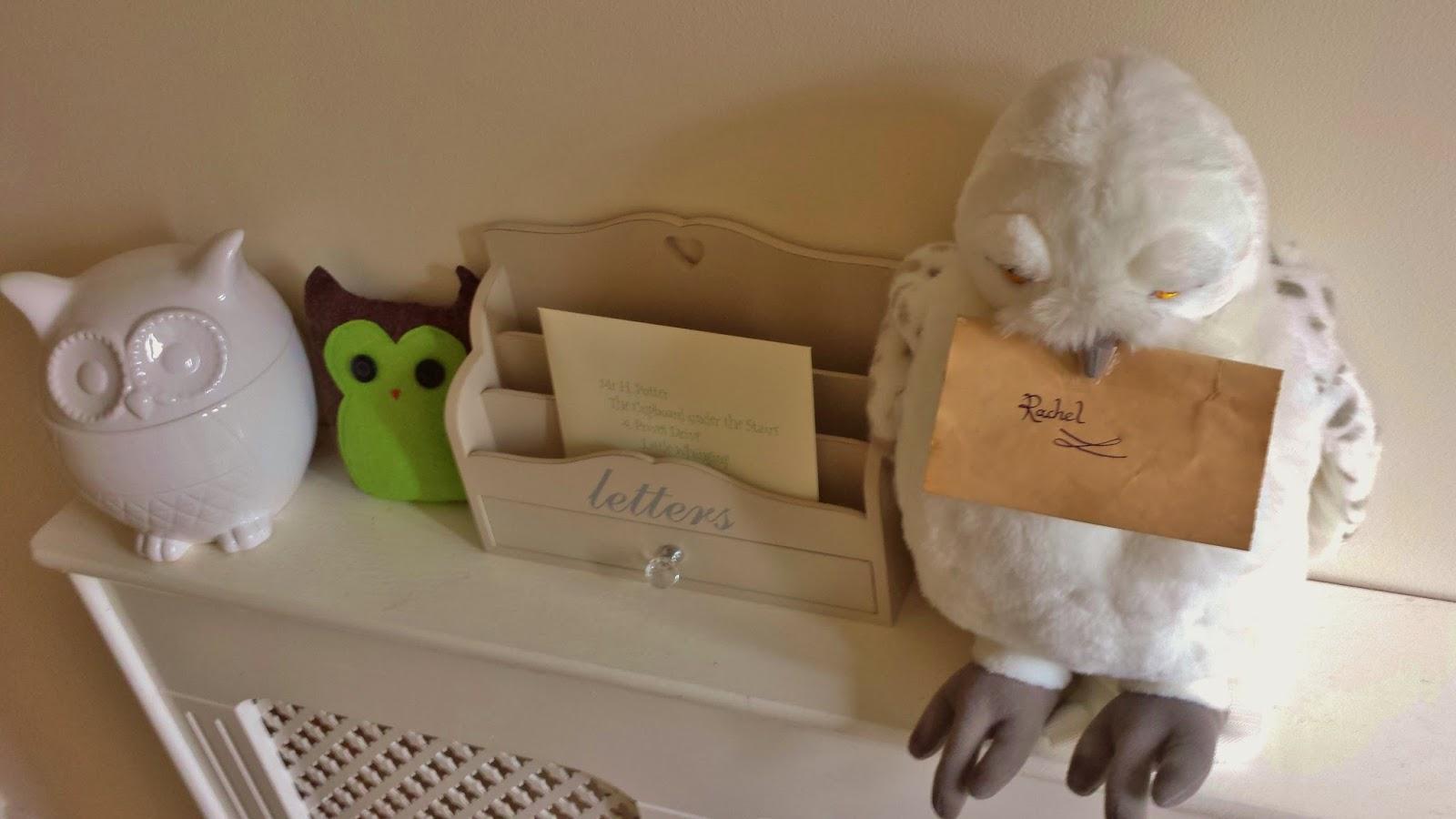 Homemade Owlery Hedwig