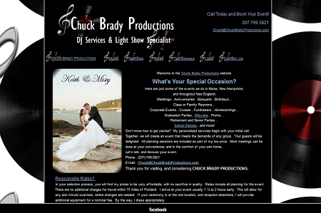 Chuck Brady Productions | Dj Services