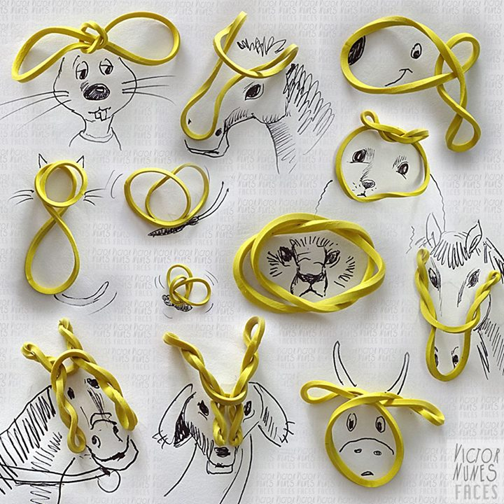 12-Rubber-Band-Animals-Victor-Nunes-The-Art-of-Making-and-Drawing-Faces-using-Everything-www-designstack-co