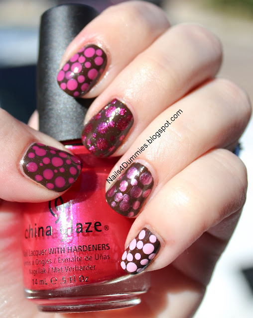 Polish Us Pink Dotticure