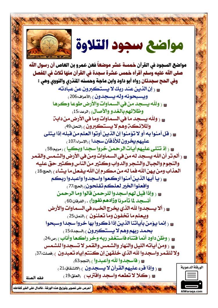 الشيخ عمر فاروق محمود سجود التلاوة