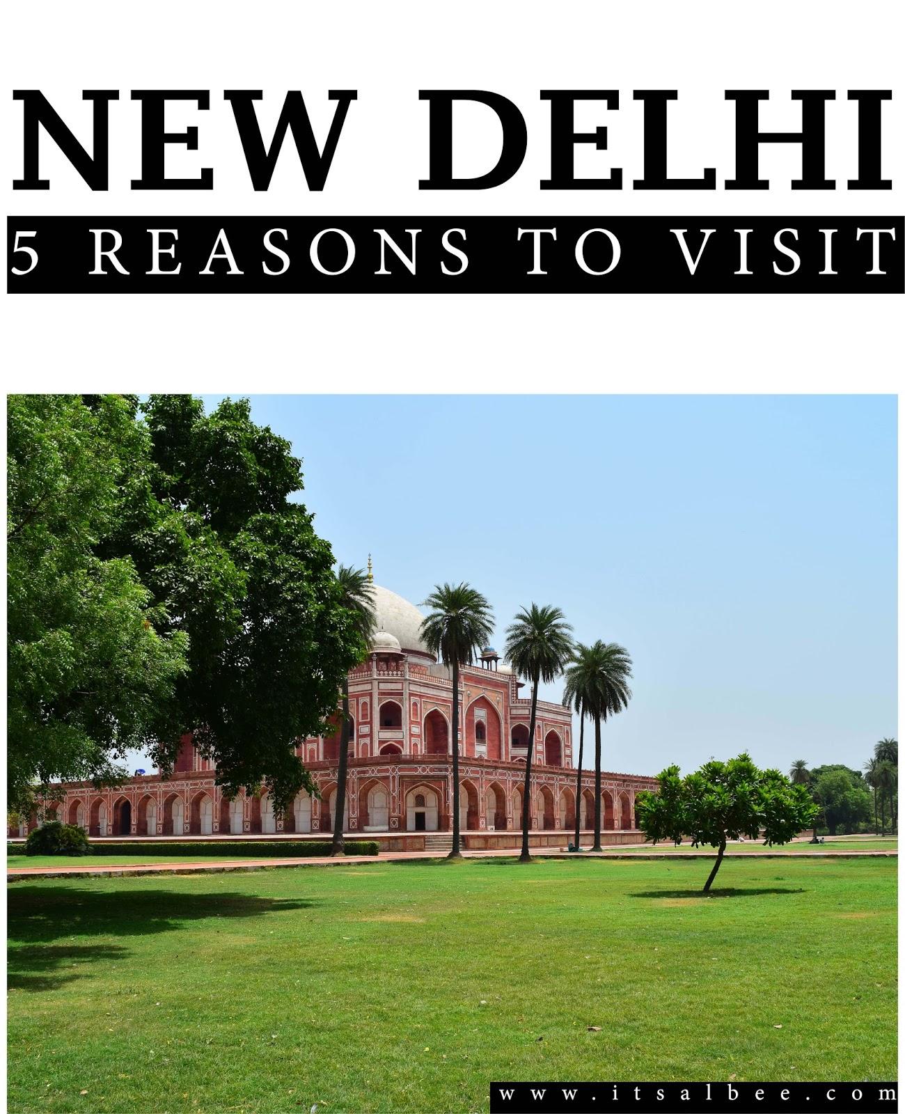 5 Reasons You Will Love New Delhi