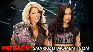 WWE Payback Kaitlyn loses Divas Championship to AJ Lee Match