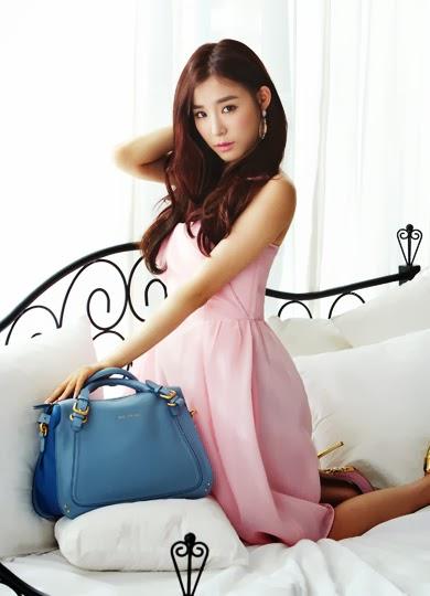 Tiffany SNSD Girls Generation Jill Stuart Photoshoot