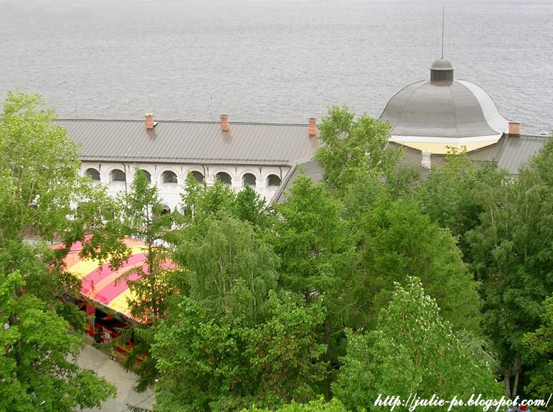 Архангельск, Колесо обозрения, Парк Потешный двор, Карусели
