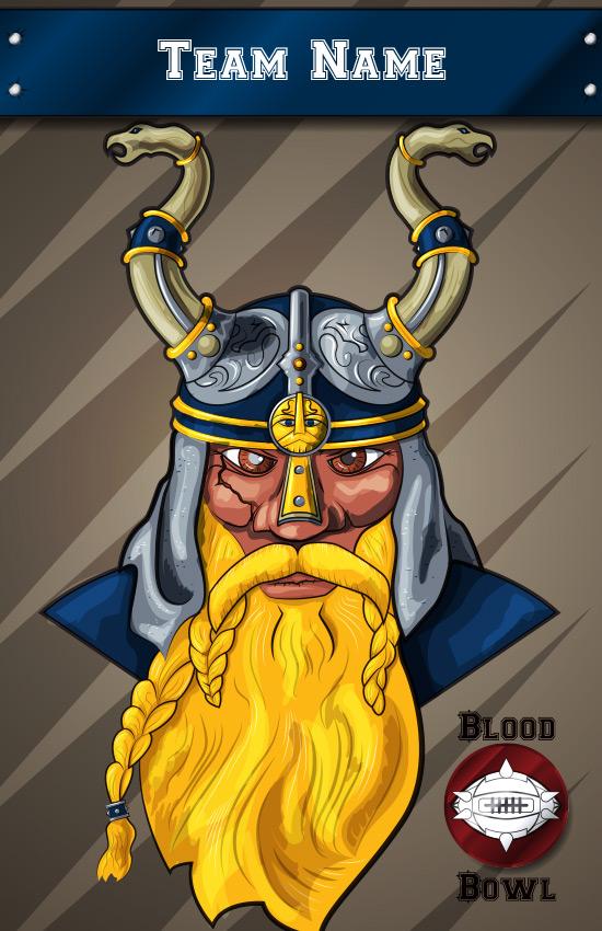 Customizable Dwarf Blood Bowl Poster Games Workshop