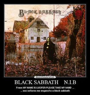 BLACK SABBATH- N.I.B.: Ο ΕΩΣΦΟΡΟΣ ΚΑΙ ΤΟ ΜΟΥΣΑΚΙ ΤΟΥ BILL WARD