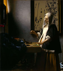Vermeer - Mulher Segurando uma Balança