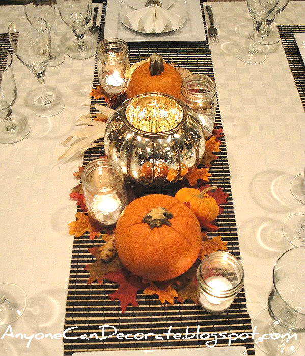 Anyone Can Decorate Happy Thanksgiving