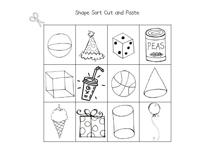 3 D Shapes Lessons TES Teach – 3d Shapes Worksheet for Kindergarten