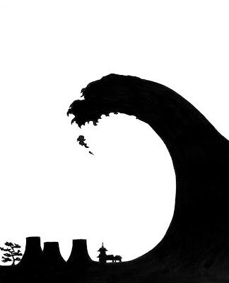 Anti Nuclear Propaganda Poster