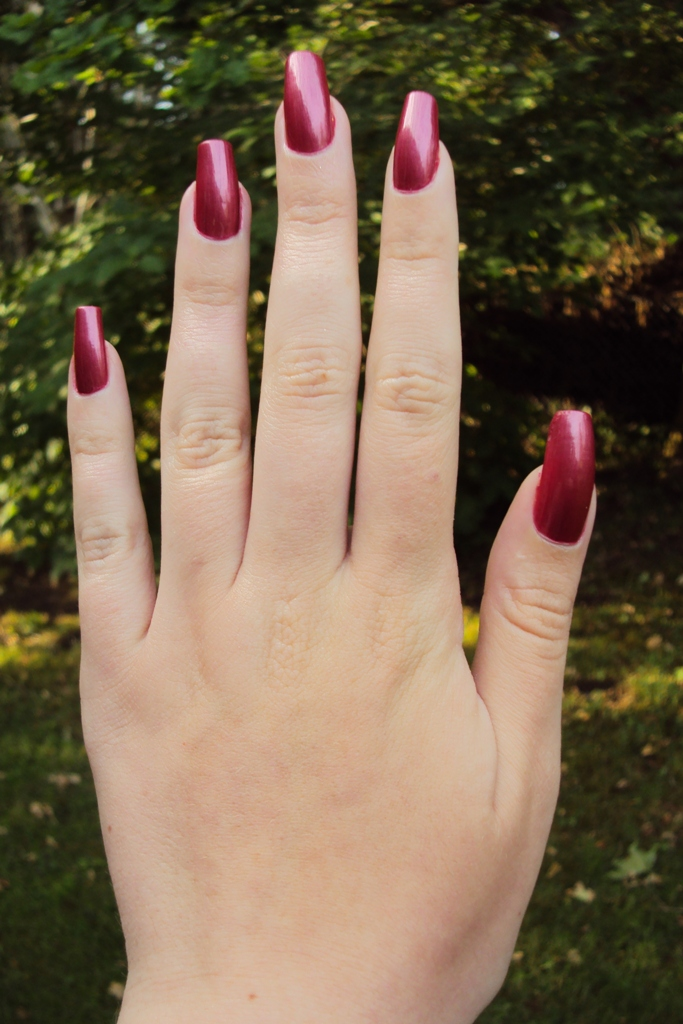 långa sexiga naglar
