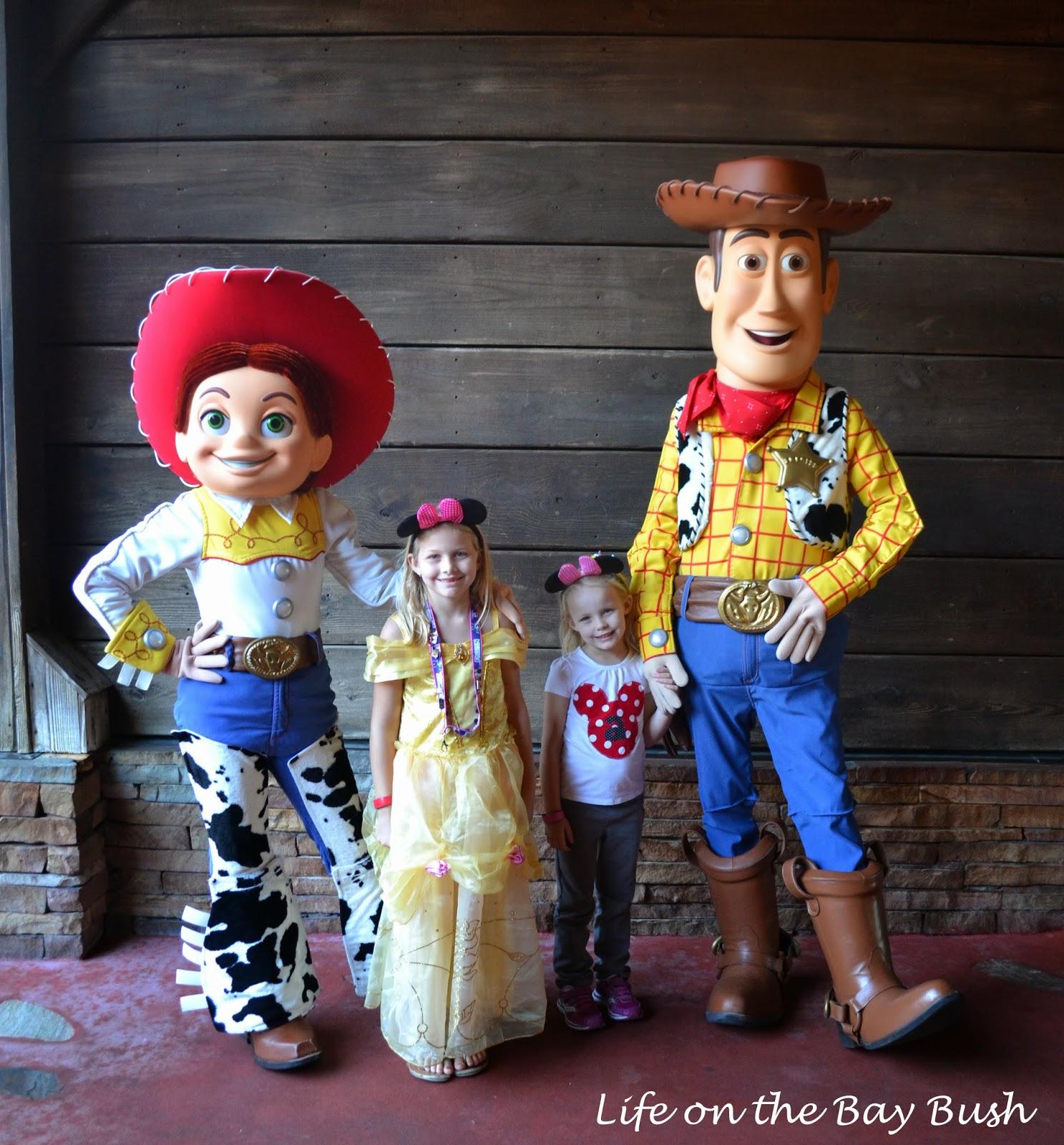 Disney's Magic Kingdom Woody and Jessie