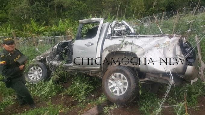 Padres de la Alcaldesa de Guacamayas, Boyacá, sufren grave accidente en la vía Málaga – Curos