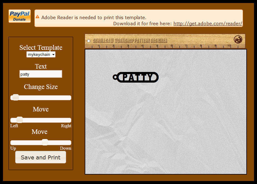 New Online Scroll Saw Pattern Generator