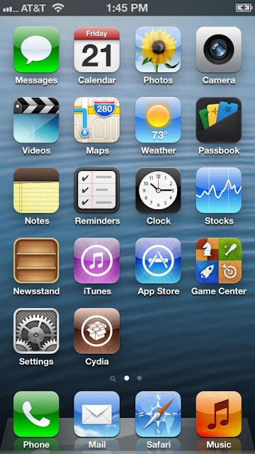 iPhone 5 Cydia Icon