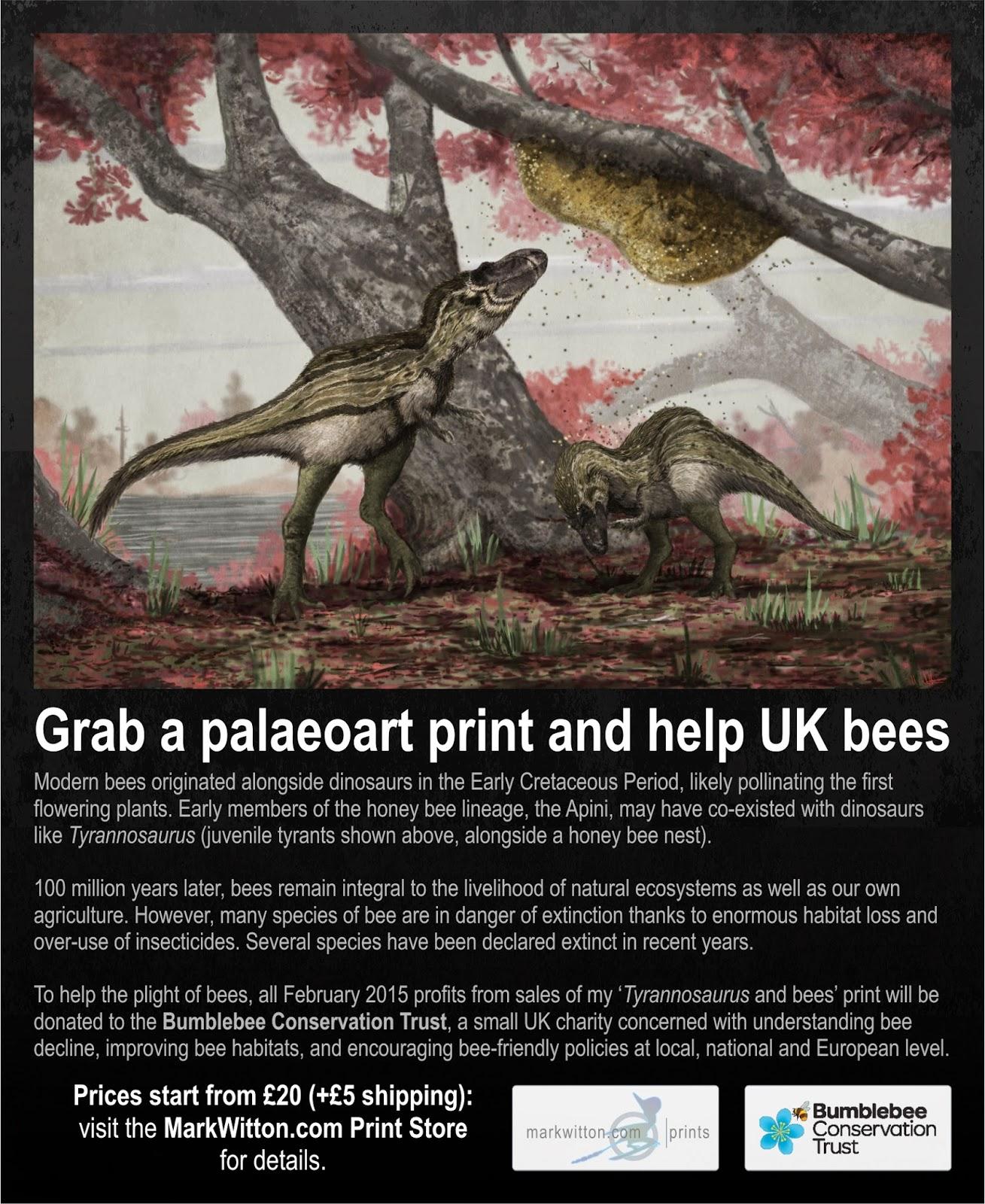 mark witton com blog tyrannosaurus mesozoic bees and bee