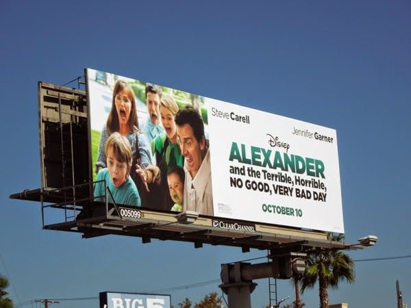 Disney Alexander Horrible Bad Day billboard