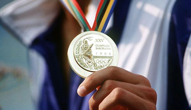 historia de las medallas: