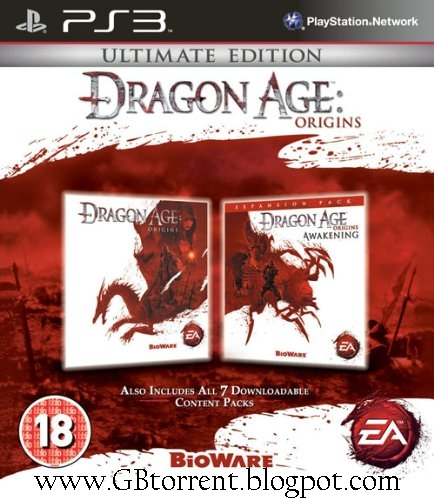GB torrent: Dragon Age: Origins (Ultimate Edition) - PS3