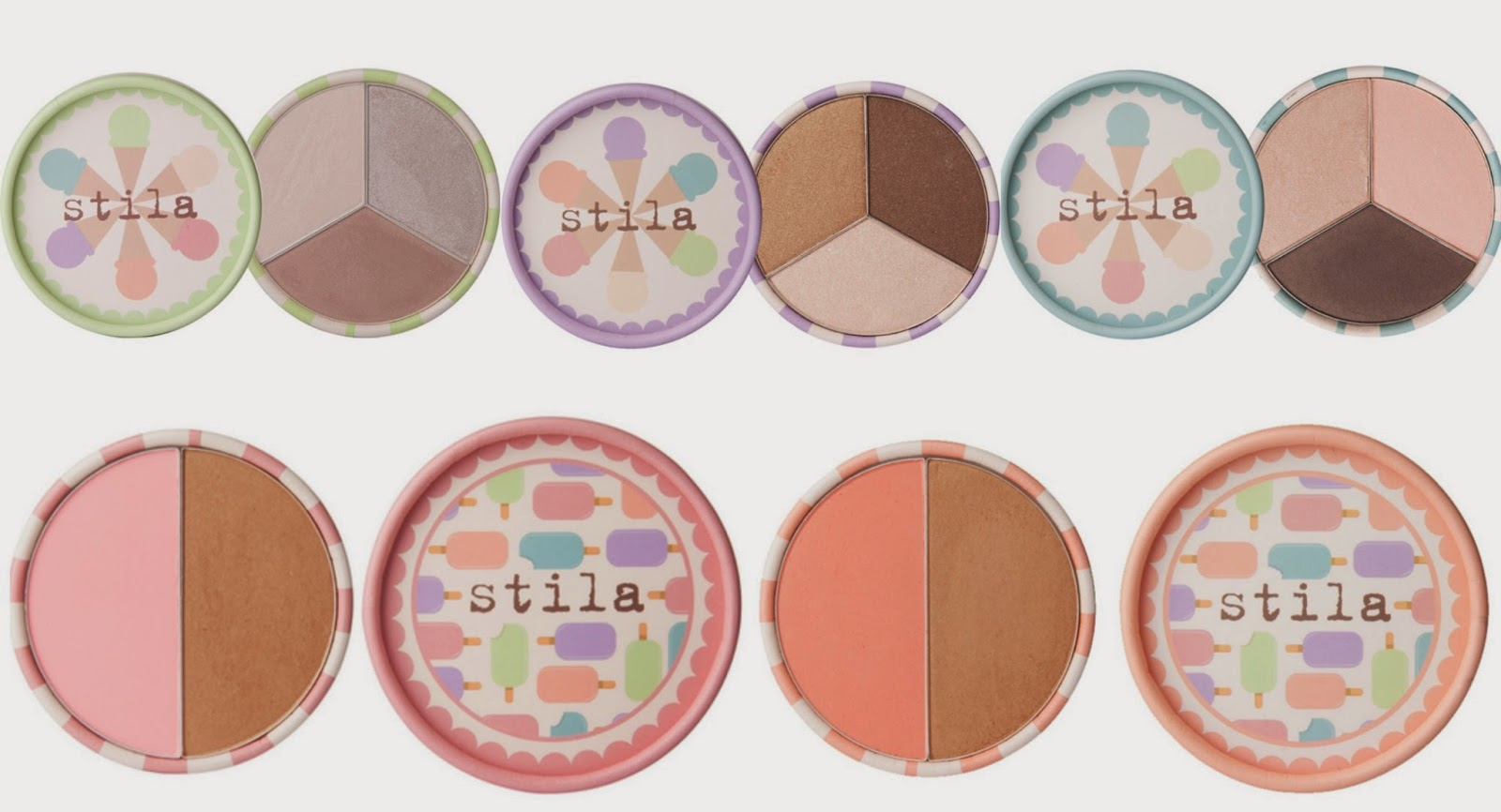 NEW! Limited Edition Stila Ice Cream Collection for Summer 2014