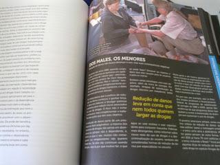 Página do livro Almanaque das drogas, de Tarso Araujo