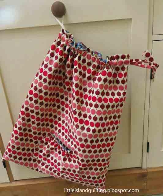 ocd: obsessive crafting disorder: Bag Lady Week: Drawstring PE bag ...
