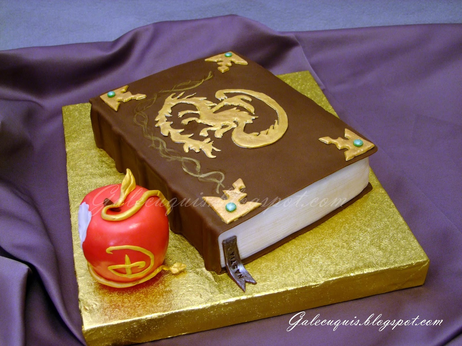 Disney Descendants Birthday Cake Pictures