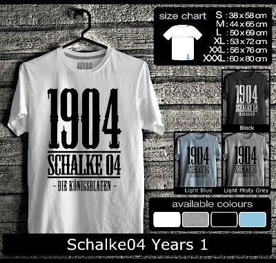 kaos distro schalke04 years 1