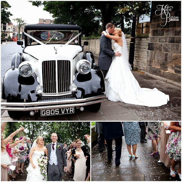 wedding car, north east wedding car, confetti, wedding shoes, wedding dress, crook hall durham wedding, st michaels houghton le spring wedding, crook hall and gardens, durham wedding venue, katie byram photography, durham wedding photographer, newcastle wedding photographer, relaxed weddings durham, purple wedding, calla lillies