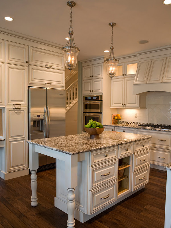 Indian River is the cabinetry color in my Homes of Distinction