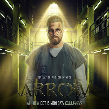 Poster Of Arrow Season 07 2018 Watch Online Free Download