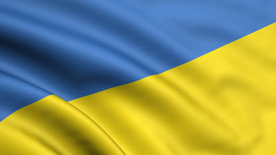yellow blue flag ukraine