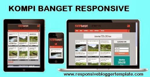 Kompi Banget Responsive Blogger Template