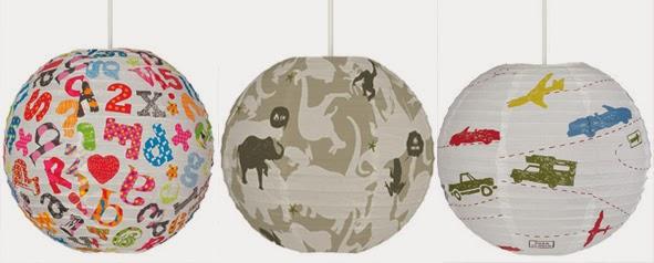 LAMPARAS DE PAPEL PARA DORMITORIOS INFANTILES by http://dormitorioinfantil.blogspot.com/