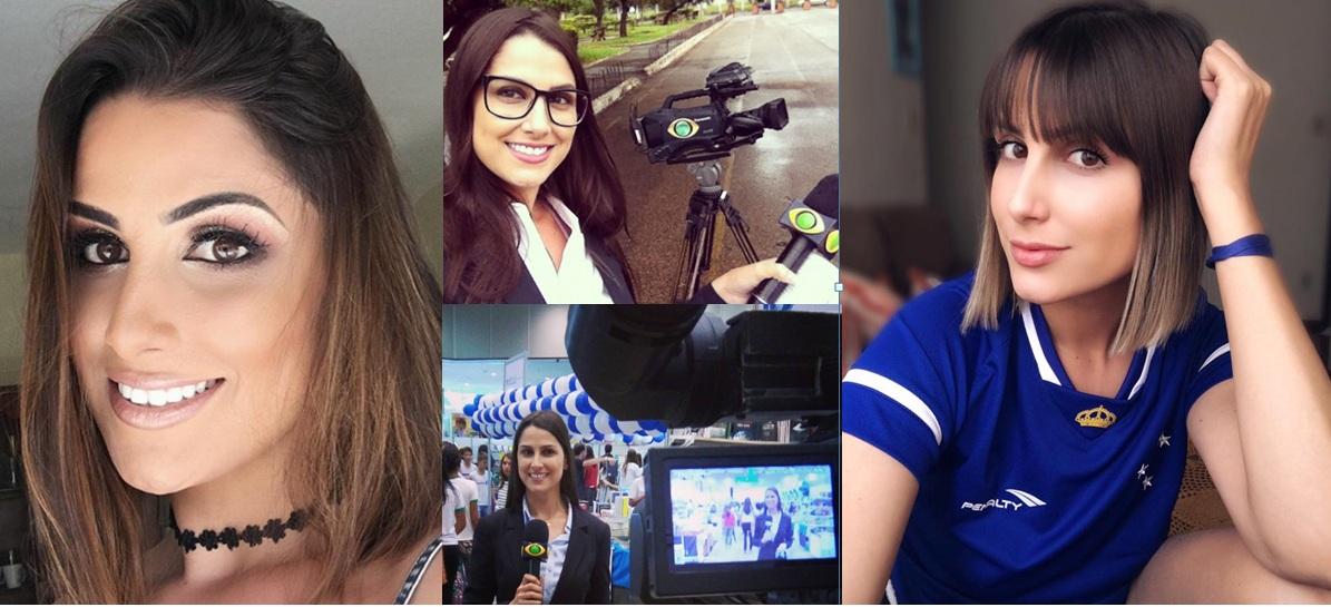 Modelo mineira Poliana Mazzo fala da sua paixão pelo jornalismo
