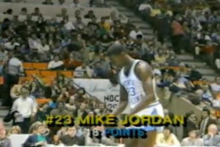 Michael Jordan con North Carolina, Carolina del Norte