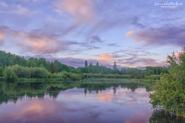 Bend Oregon Deschutes river hike sunrise Jaime Weatherford