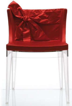 La cerise et le design la chaise mademoiselle valentino for Chaise valentino